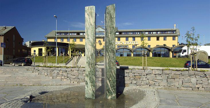 Rica-hotellet i Vadsø der NRL-landsmøtet finner sted.