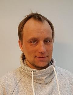 Leder i Karasjok Flyttsamelag Leif Anders Somby