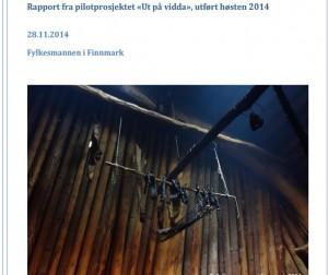 Rapporten for pilotprosjektet Ut på Vidda