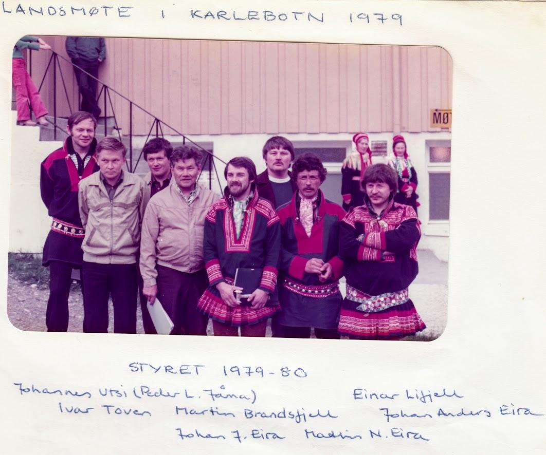 Styret 1979 - 80